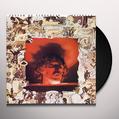 Luis Alberto Spinetta TESTER DE VIOLENCIA Vinyl Record