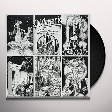Sui Generis PEQUENAS ANECDOTAS (ARG) Vinyl Record