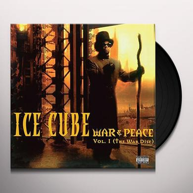 Ice Cube WAR & PEACE 1 (THE WAR DISC) Vinyl Record
