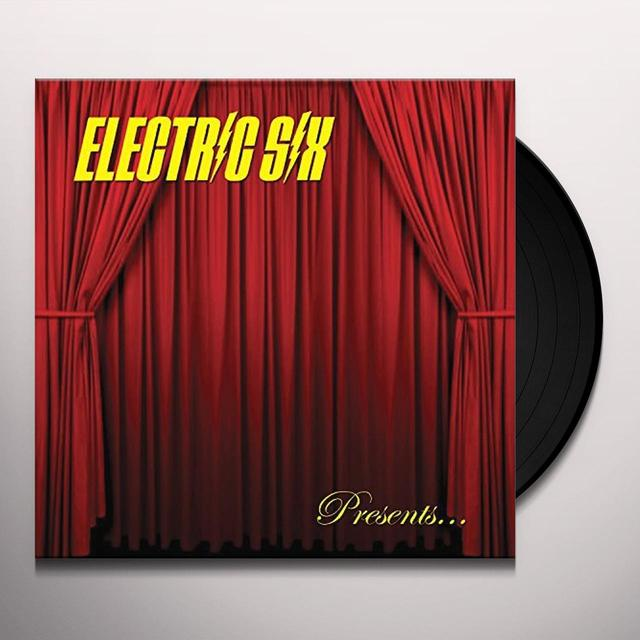 Electric Six BITCH DON'T LET ME DIE Vinyl Record