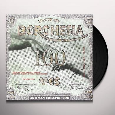 Borghesia AND MAN CREATED Vinyl Record