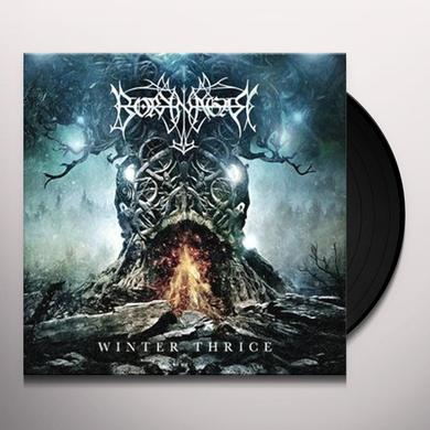 Borknagar WINTER THRICE Vinyl Record - Gatefold Sleeve