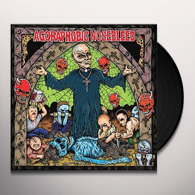 Agoraphobic Nosebleed ALTERED STATES OF AMERICA Vinyl Record