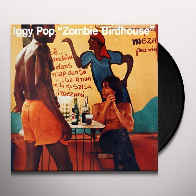 Iggy Pop ZOMBIE BIRDHOUSE Vinyl Record