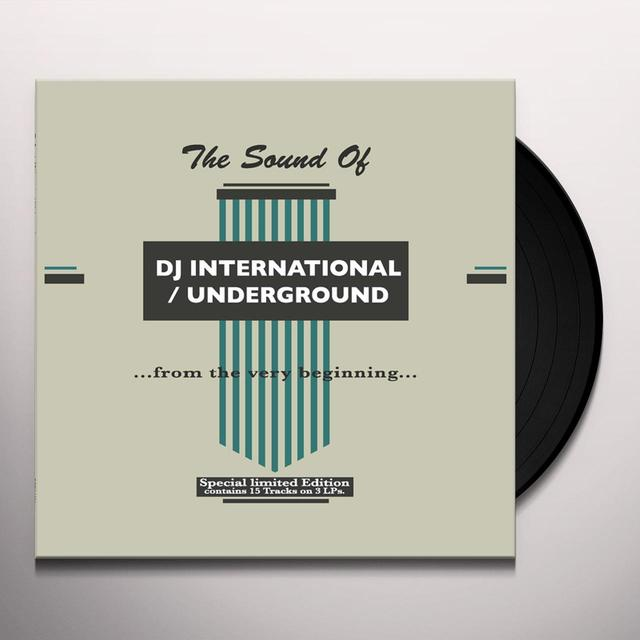 SOUND OF DJ INTERNATIONAL / UNDERGROUND / VARIOUS Vinyl Record