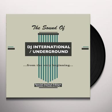 SOUND OF DJ INTERNATIONAL / UNDERGROUND / VARIOUS Vinyl Record
