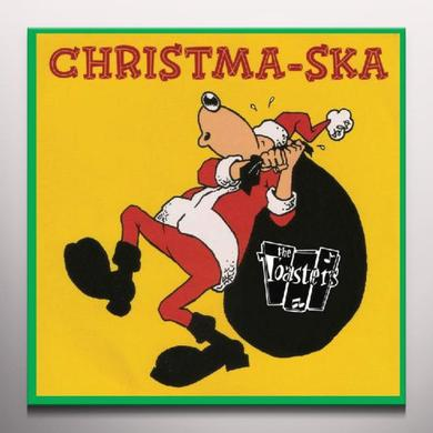 The Toasters CHRISTMA-SKA Vinyl Record - Colored Vinyl, Limited Edition