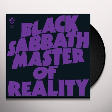 Black Sabbath MASTER OF REALITY Vinyl Record - 180 Gram Pressing, Deluxe Edition