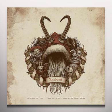 Douglas Pipes KRAMPUS / O.S.T. Vinyl Record - Gatefold Sleeve, 180 Gram Pressing, Red Vinyl