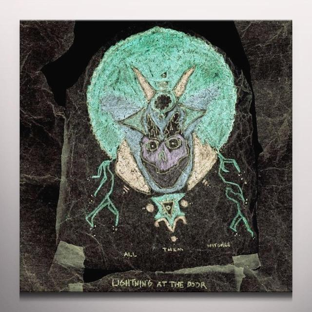 All Them Witches LIGHTNING AT THE DOOR   (WSV) Vinyl Record - Colored Vinyl, 180 Gram Pressing, Digital Download Included