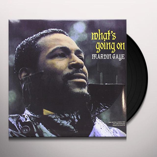 Marvin Gaye WHAT'S GOING ON Vinyl Record