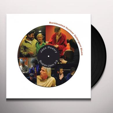 Michael Horovitz / Damon Albarn / Graham Coxon BANKBUSTED NUCLEAR DETERGENT BLUES Vinyl Record - Limited Edition, 180 Gram Pressing