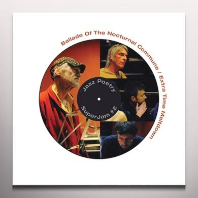 Michael Horovitz / Damon Albarn / Graham Coxon BALLADE OF THE NOCTURNAL COMMUNE Vinyl Record - Limited Edition, White Vinyl