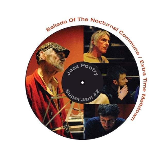 Michael Horovitz / Damon Albarn / Graham Coxon BALLADE OF THE NOCTURNAL COMMUNE Vinyl Record