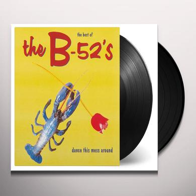 B-52's DANCE THIS MESS AROUND: THE BEST OF Vinyl Record - Holland Import