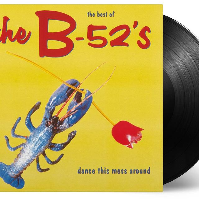 B-52's DANCE THIS MESS AROUND: THE BEST OF Vinyl Record