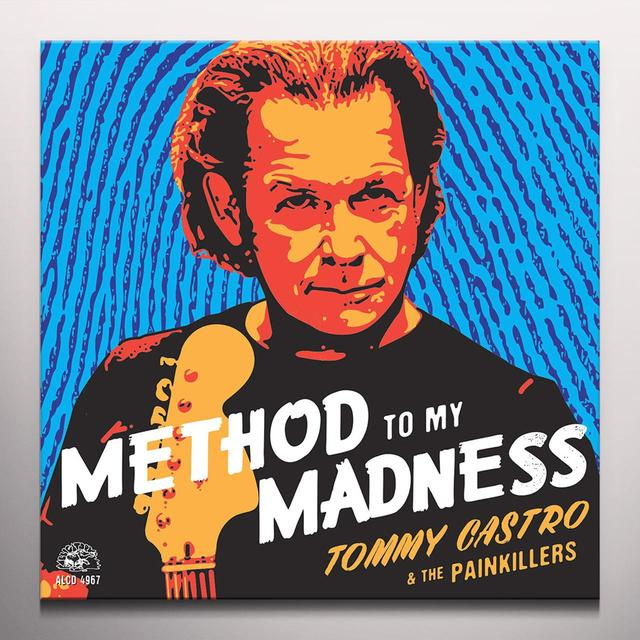 Tommy Castro & The Painkillers METHOD TO MY MADNESS Vinyl Record - Blue Vinyl, 180 Gram Pressing, Digital Download Included
