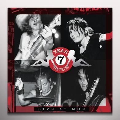 7 Year Bitch LIVE AT MOE Vinyl Record - Black Vinyl, Limited Edition, 180 Gram Pressing, Red Vinyl