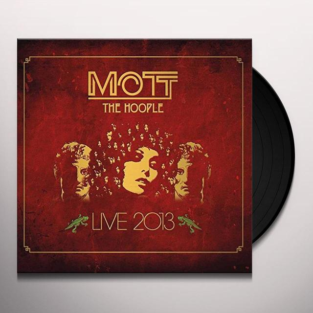 Mott The Hoople LIVE 2013 Vinyl Record - Gatefold Sleeve