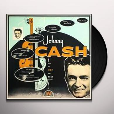 Johnny Cash HOT & BLUE GUITAR Vinyl Record