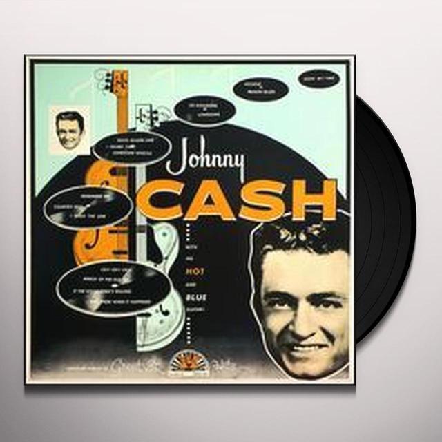Johnny Cash HOT & BLUE GUITAR Vinyl Record