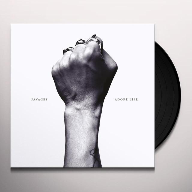 Savages ADORE LIFE Vinyl Record