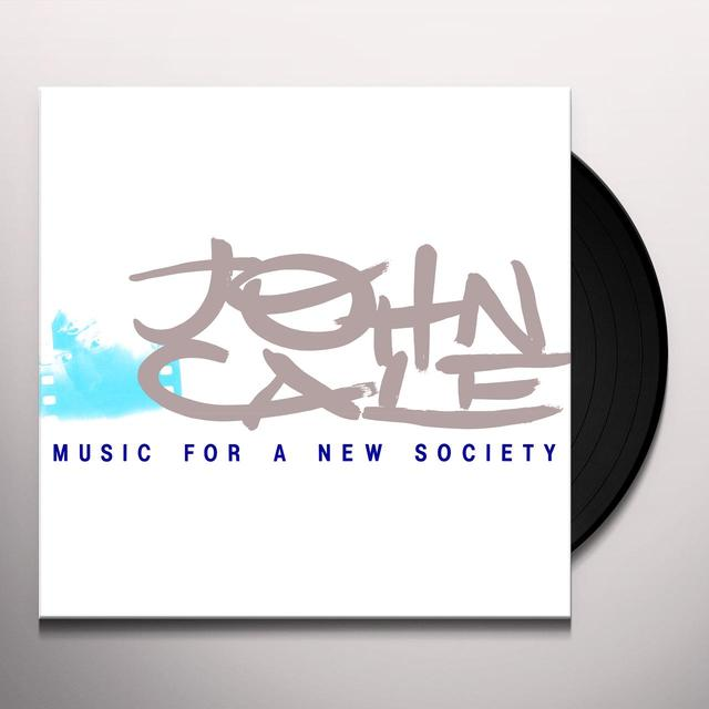 John Cale MUSIC FOR A NEW SOCIETY Vinyl Record - 180 Gram Pressing, Digital Download Included