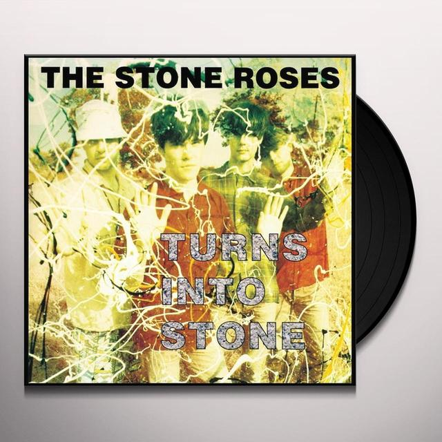 The Stone Roses TURNS INTO STONE Vinyl Record - Black Vinyl, Remastered
