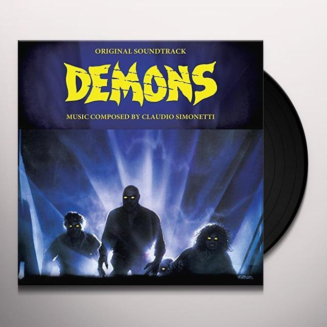 Claudio Simonetti DEMONS / O.S.T. (30TH ANNIVERSARY EDITION) Vinyl Record - Limited Edition