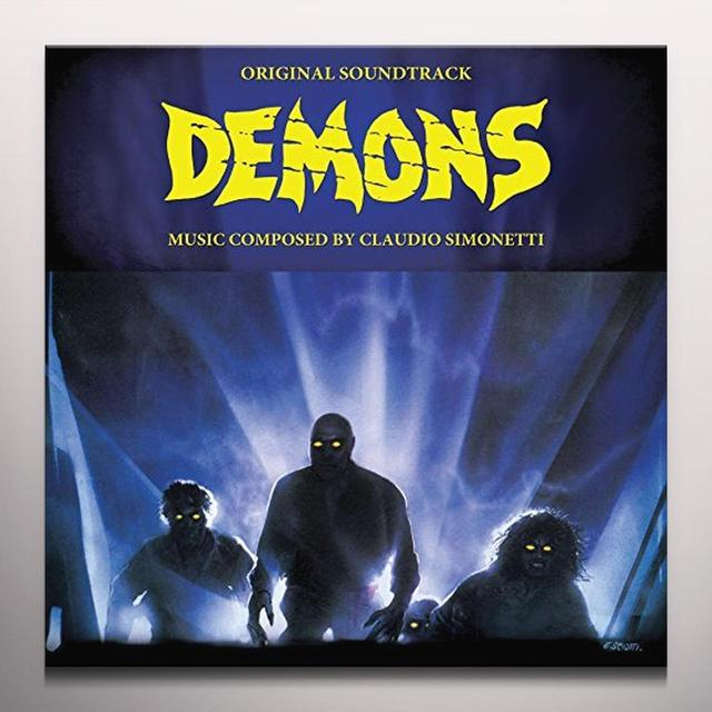 Claudio Simonetti DEMONS / O.S.T. Vinyl Record - Colored Vinyl, Green Vinyl, Poster