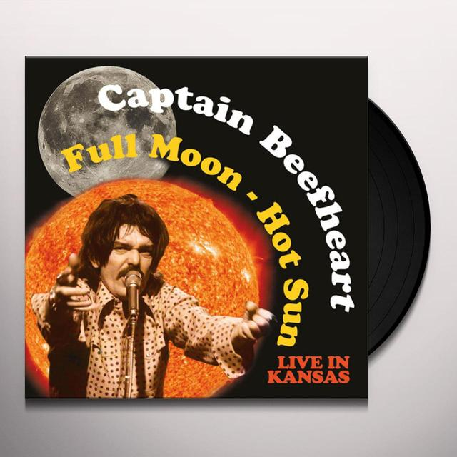 Captain Beefheart FULL MOON - HOT SUN LIVE IN KANSAS Vinyl Record - 180 Gram Pressing