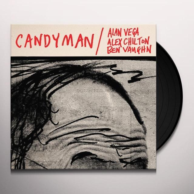 Alan VEGA, Alex CHILTON, Ben VAUGHN CANDYMAN / LOVER OF LOVE Vinyl Record