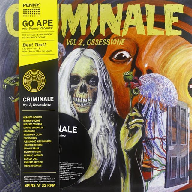 CRIMINALE VOL. 2 - OSSESSIONE / VAR CRIMINALE VOL. 2 - OSSESSIONE Vinyl Record