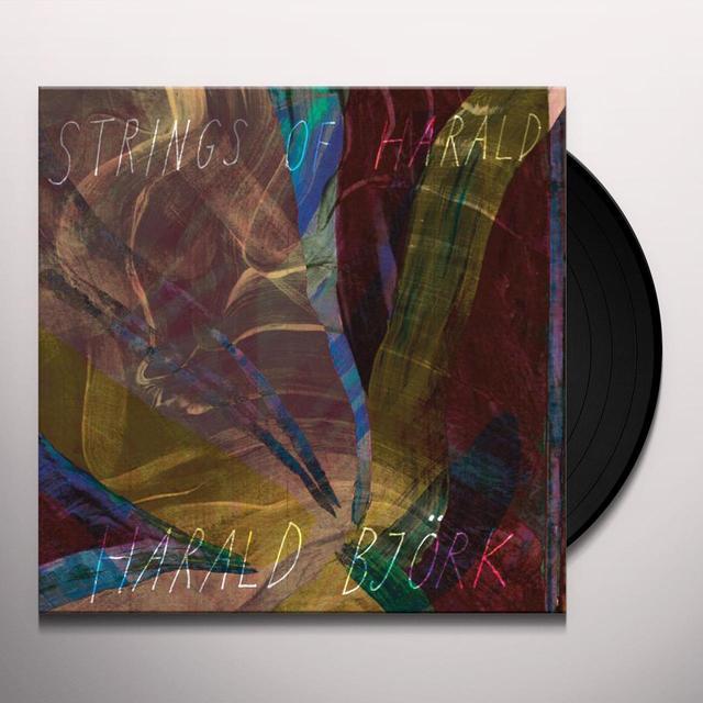 Harald Bjork STRINGS OF HARALD Vinyl Record