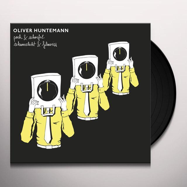 Oliver Huntemann PECH & SCHWEFEL / SCHWARZLICHT & FILMRISS Vinyl Record