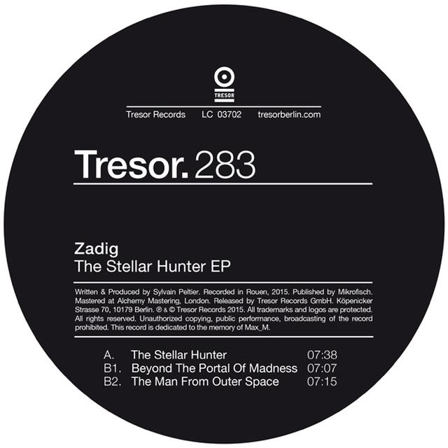 Zadig STELLAR HUNTER Vinyl Record