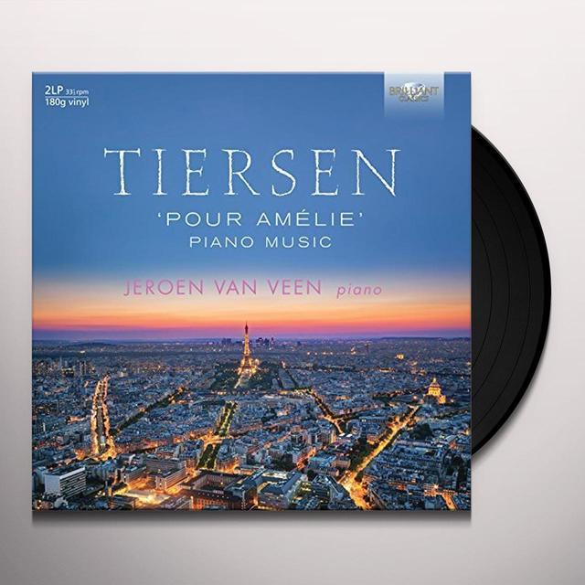 Jeroen van Veen TIERSEN: PIANO MUSIC Vinyl Record - UK Release