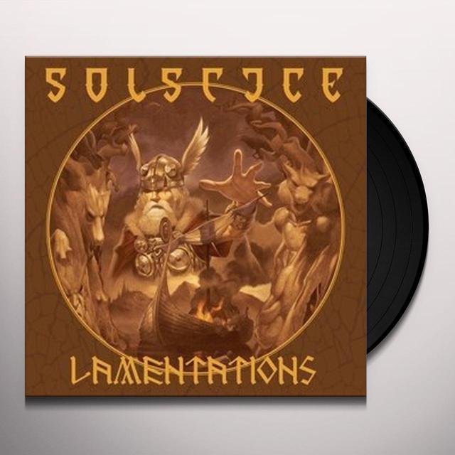SOLSTICE LAMENTATIONS Vinyl Record - UK Import