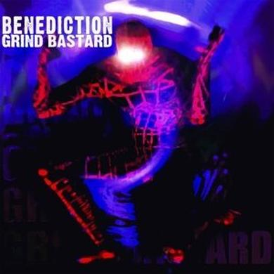 Benediction GRIND BASTARD Vinyl Record - UK Release
