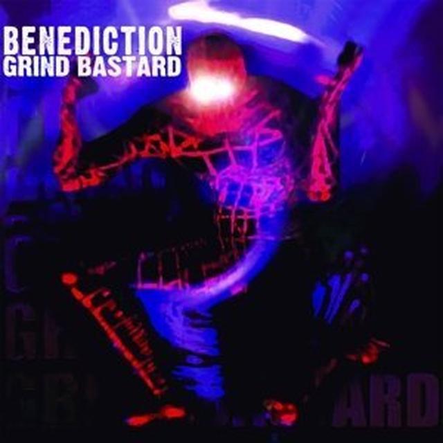 Benediction GRIND BASTARD Vinyl Record - UK Import