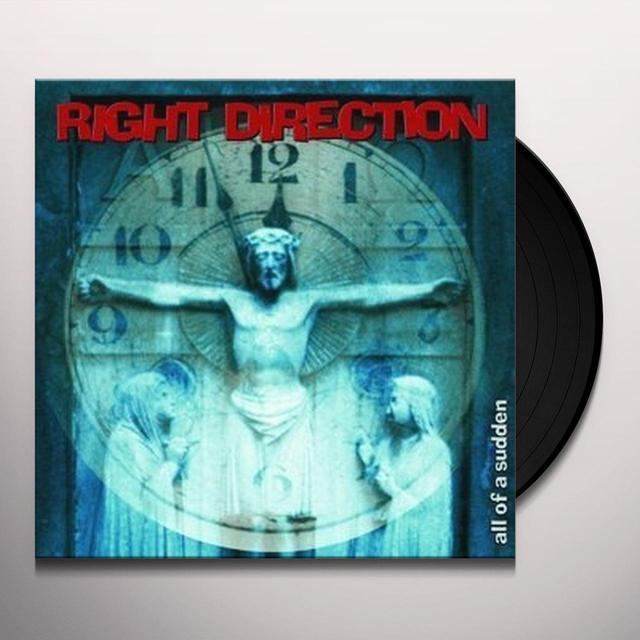RIGHT DIRECTION ALL OF A SUDDEN Vinyl Record - UK Import