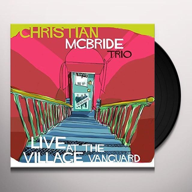 Christian Trio Mcbride LIVE AT THE VILLAGE VANGUARD Vinyl Record - UK Import