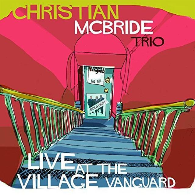 Christian Trio Mcbride LIVE AT THE VILLAGE VANGUARD Vinyl Record - UK Import