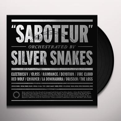 Silver Snakes SABOTEUR Vinyl Record - UK Import