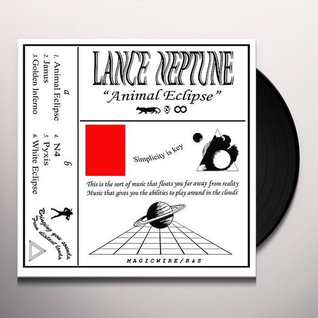 Lance Neptune ANIMAL ECLIPSE Vinyl Record - UK Import