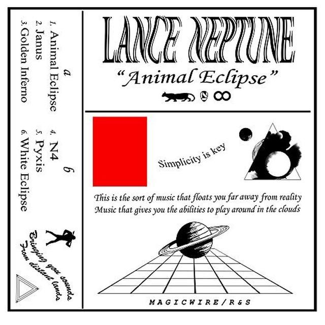 Lance Neptune ANIMAL ECLIPSE Vinyl Record - UK Release