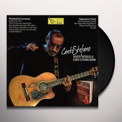 Fausto Mesolella CANTO STEFANO (45RPM) Vinyl Record