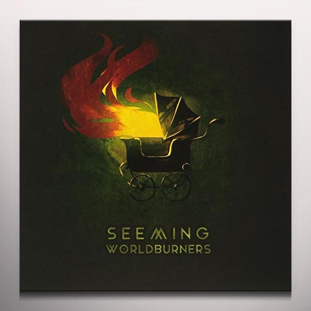SEEMING WORLDBURNERS (WHITE VINYL) Vinyl Record - Colored Vinyl, White Vinyl, Canada Import