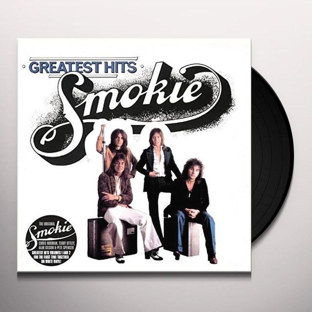 Smokie GREATEST HITS (BRIGHT WHITE EDITION) Vinyl Record