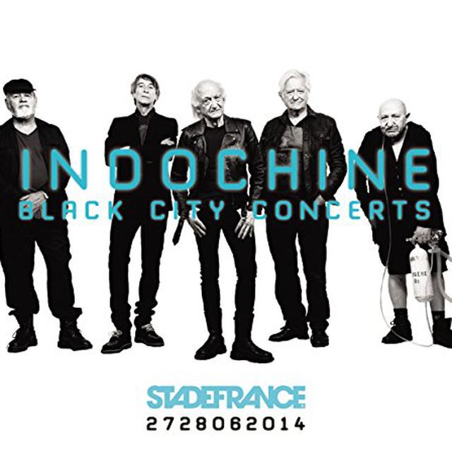 Indochine BLACK CITY CONCERTS Vinyl Record
